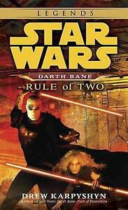 NEW Rule of Two (Star Wars: Darth Bane, Book 2) by Drew Karpyshyn