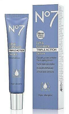 No7® Lift & Luminate Triple Action Serum 30ml
