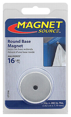 Round Base Magnet - 16-lb. Pull
