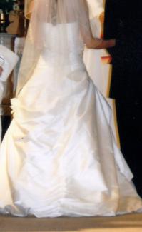"""Equisite! ....  Raw Silk ""Wedding Dress"