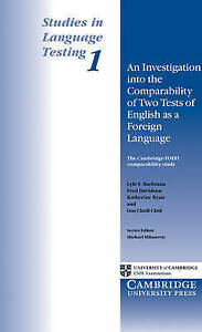 An Investigation into the Comparability of Two Tests of English as a Foreign Lan