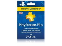 Playstation Account with 12 Months PSN Plus - No Offers !