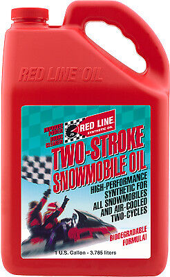 Red Line Snowmobile 2-Cycle / 2- Stroke Oil - 128 oz / 1 Gallon - 41005 2 Stroke Oil 2 Cycle
