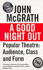A Good Night Out by McGrath, John | Paperback Book | 9781854593702 | NEW