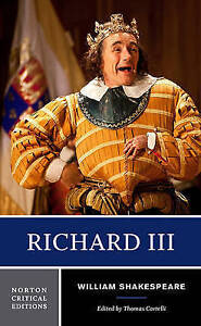 Richard III Shakespeare, Cartelli WW Norton Co PB / 9780393929591