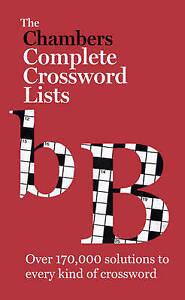 Chambers Crossword Lists, Chambers