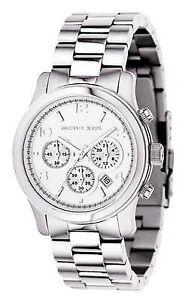 a83f76946c4 Michael Kors Sport Chronograph MK5076 Women s Wrist Watch - Silver ...