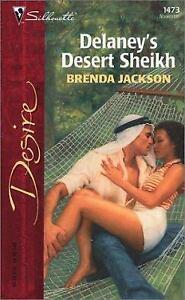 Delaney's Desert Sheikh by Brenda Jackson