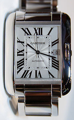 The iconic Cartier Tank