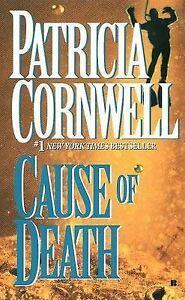 Cause of Death - Patricia Cornwell - Kay Scarpetta Mystery Thriller - Small Pb