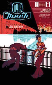 NYC Mech: v. 1: Let's Electrify by Ivan Brandon 2005 Image Graphic Novel English