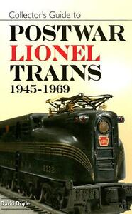Collector's Guide to Postwar Lionel Trains 1945 - 1969 Model Train Value Price