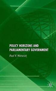 Policy Horizons and Parliamentary Government, New Books