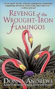 Revenge-of-the-Wrought-Iron-Flamingos-by-Donna-Andrews-Paperback