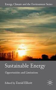 Sustainable Energy: Opportunities and Limitations (Energy-ExLibrary