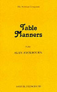 Table-Manners-Acting-Edition-Good-Condition-Book-Ayckbourn-Alan-ISBN-97805