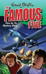 Blyton, Enid, Five Go To Mystery Moor: Book 13 (Famous Five), Very Good Book