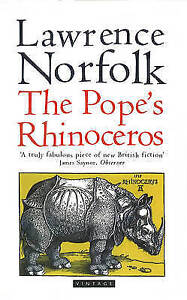 """VERY GOOD"" The Pope's Rhinoceros, Norfolk, Lawrence, Book"