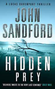 """VERY GOOD"" Hidden Prey, Sandford, John, Book"