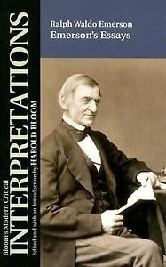 ralph waldo emersons essays Ralph waldo emerson literary works nature addresses, and lectures, 1849 note: list of selected criticism included nature, 1836 review of essays.