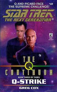 Q-Strike (Star Trek: The Next Generation), Cox, Greg, Very Good Book