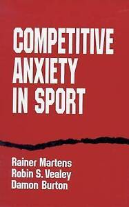 Competitive Anxiety in Sport by Rainer Martens, etc. (Paperback, 1995)