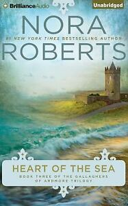 HEART OF THE SEA unabridged audio book on CD by NORA ROBERTS