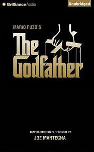 The Godfather by Mario Puzo (2015, CD, Unabridged)