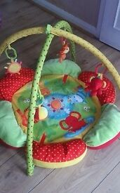 Mother care Baby play mat gym arch safari