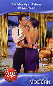 His Majesty's Mistress (Mills & Boon Modern), Donald, Robyn, Good Book