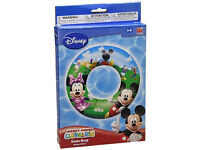 Disney Mickey Mouse Inflatable Swim Ring 3-6yrs - NEW