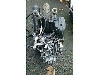 Honda sh125i engine low mileage
