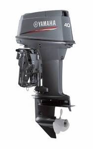 40VETOL Yamaha 40hp Oil-injected 2-stroke Outboard motor Westminster Stirling Area Preview