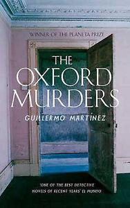 The Oxford Murders, Martinez, Guillermo,