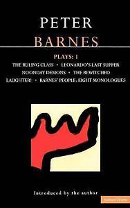 Plays : 1 (The Ruling Class, Leonardo's Last Supper, Noonday Demons, The Bewitch