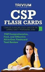 CSP Flash Cards: Complete Flash Card Study Guide for the Cer