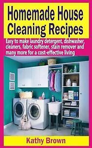 Homemade House Cleaning Recipes : Easy to Make Laundry Deter
