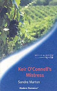 Good, Keir O'Connell's Mistress (Mills & Boon Modern), Marton, Sandra, Book