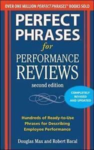 Perfect Phrases for Performance Reviews 2/E, Max, Douglas