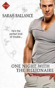 One Night with the Billionaire by Ballance, Sarah -Paperback