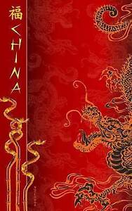 China Notebook: Chinese New Year Gifts / Presents ( Lucky Chinese Ruled Notebook