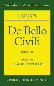 Lucan: De bello civili Book II, Lucan