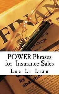 Power Phrases for Insurance Sales by Lee, MS Li Lian -Paperback