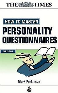 How to Master Personality Questionnaires: And Discover Which Career Best...