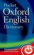 Oxford Pocket English Dictionary