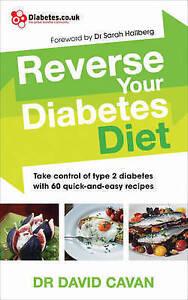 CAVAN,DR DAVID-REVERSE YOUR DIABETES DIET  BOOK NEW