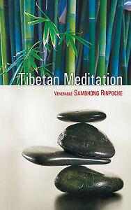 Tibetan Meditation by Samdhong Rinpoche (Paperback 2011) NEW