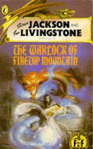 USED (VG) Warlock of Firetop Mountain - Fighting Fantasy 1 by Steve Jackson