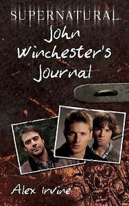 Supernatural-John-Winchesters-Journal-by-Alex-Irvine-2011-Paperback