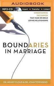 USED (LN) Boundaries in Marriage by Dr. Henry Cloud